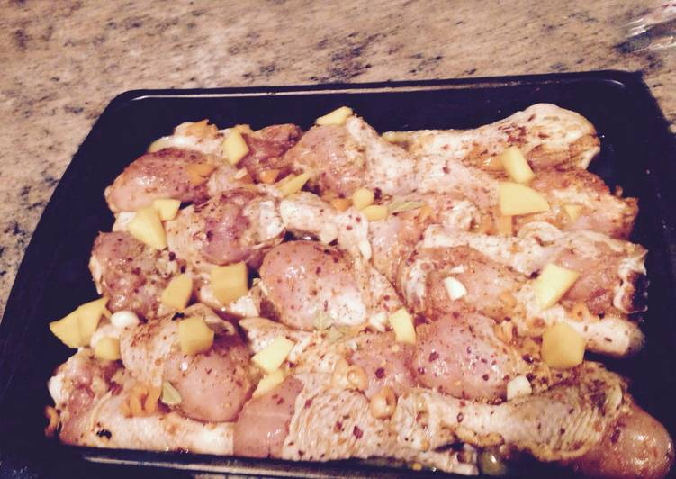 Barbecue Habanero Mango Chicken