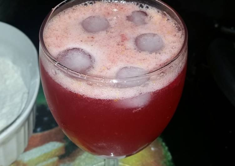 Foods That Can Make You Happy Sparkling Cranberry Cocktail