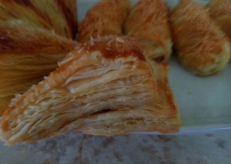 Resep Puff Pastry Anti Gagal oleh Lewis - Cookpad