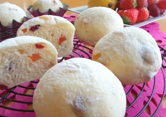 Fruit Bread (White Yogurt Bread)