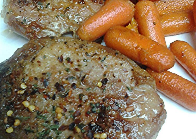 Sweet heat pork loin