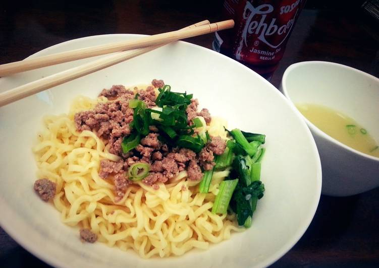 Minced Beef Noodle (in english & bahasa)