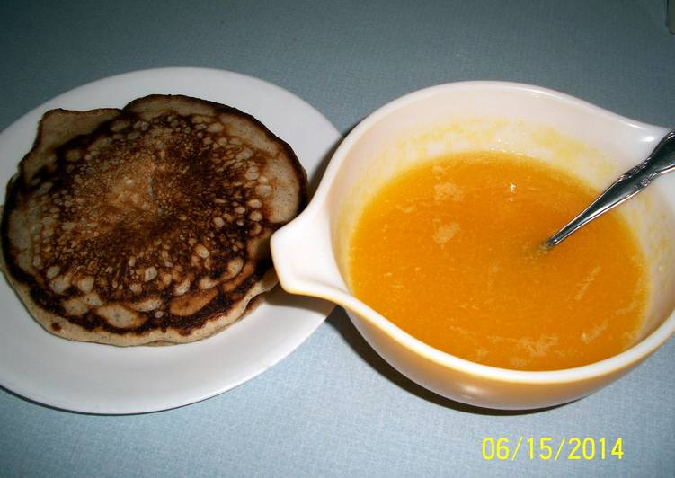 Recipe of Ultimate Orange sauce for pancakes and waffles