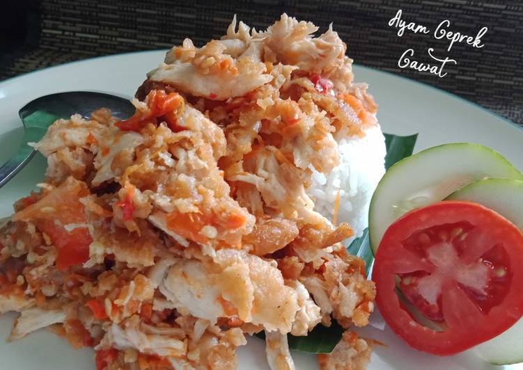Ayam Geprek Gawat