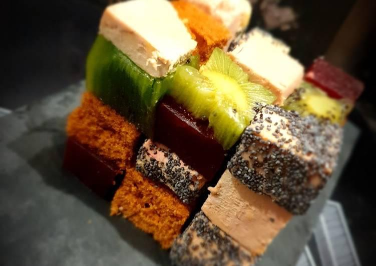 Rubik's cube de foie gras