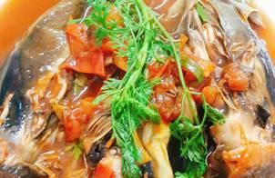 Cá nục kho cà(món chay)