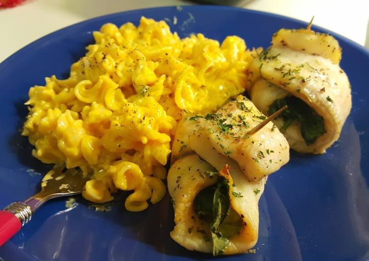 Easiest Way to Make Award-winning Tilapia Wrapped Spinach