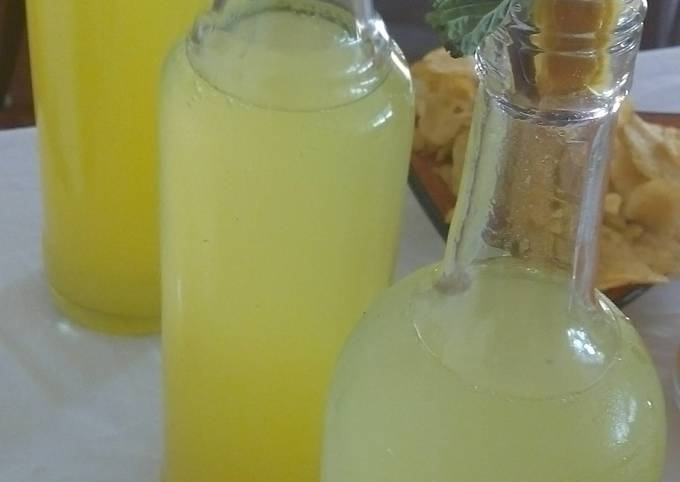 Home made lemonade with a wist!