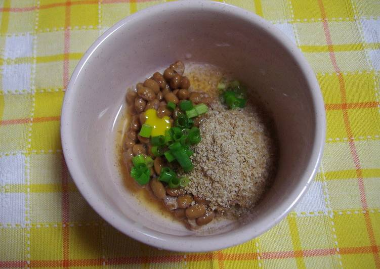 Old Fashioned Dinner Easy Blends Sesame and Vinegar Natto
