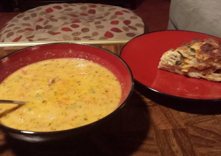 Chorizo and Cheese Chowder