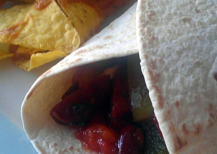 Easiest Way to Make Homemade Vickys Bean & Chorizo Tortillas, GF DF EF SF NF