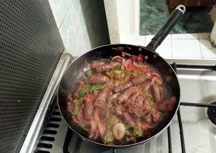 alexandrian sausage (sodk eskndrany)