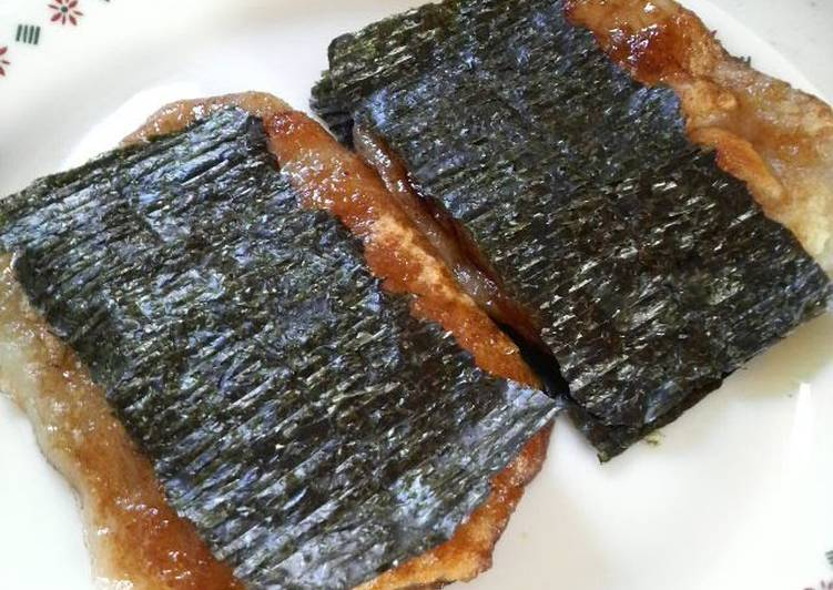 Easiest Way to Make Perfect Sweet and Savory Isobe Mochi With a Twist