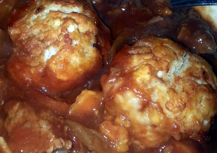 Recipe of Homemade Suet Dumplings
