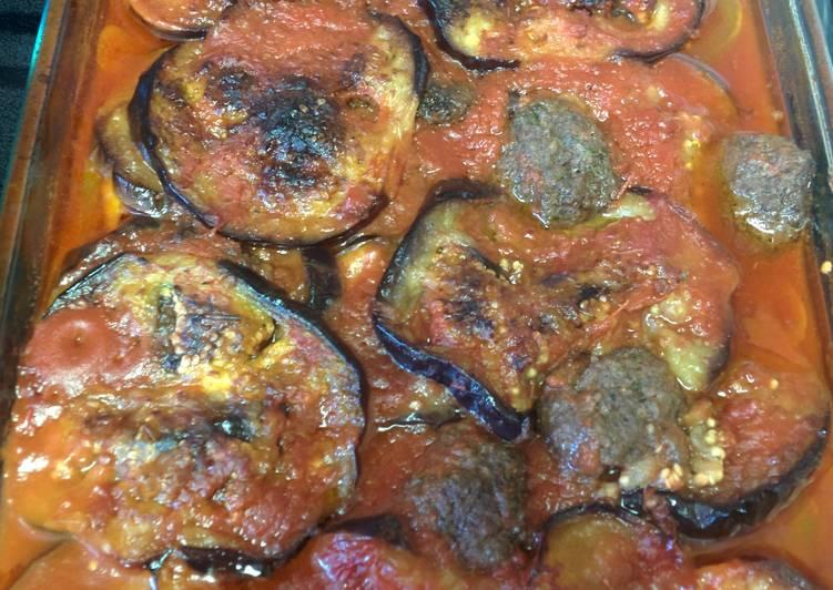 Recipe: Tasty Eggplant casserole! (Tapsee)