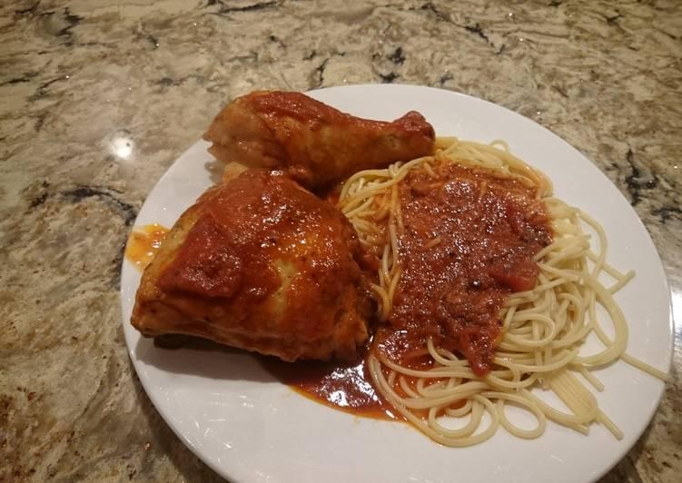 Steps to Prepare Homemade Chicken Cacciatore