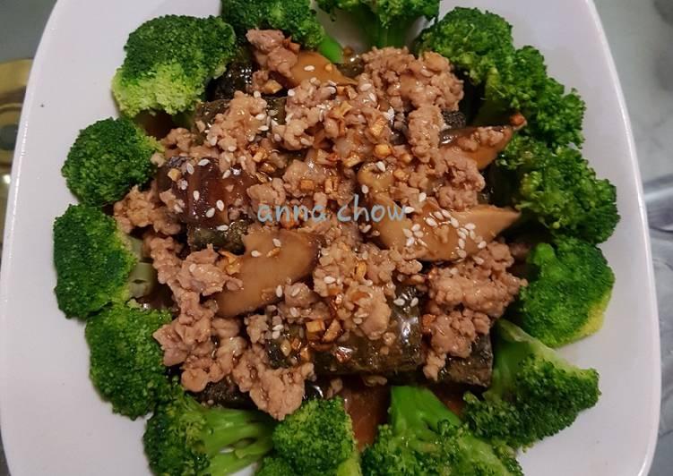 Resep Egg Tofu Broccoli Yang Enak