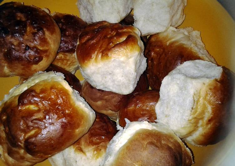 fresh bread rolls (Drum best recipes)