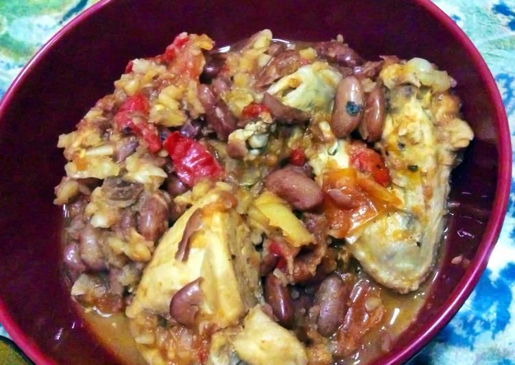 Recipe of Favorite Chicken Chili Bean