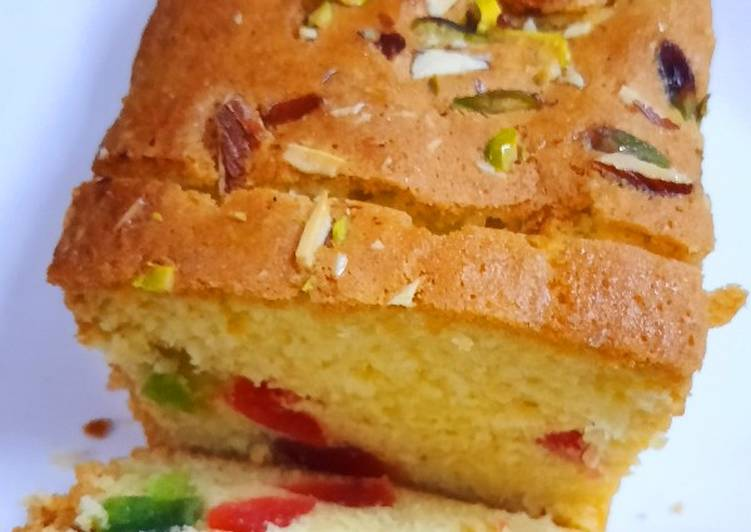 Simple Way to Make Favorite Fruit cake
