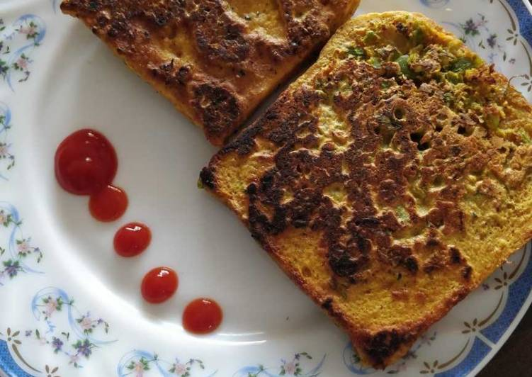 Step-by-Step Guide to Prepare Perfect Bread cheela
