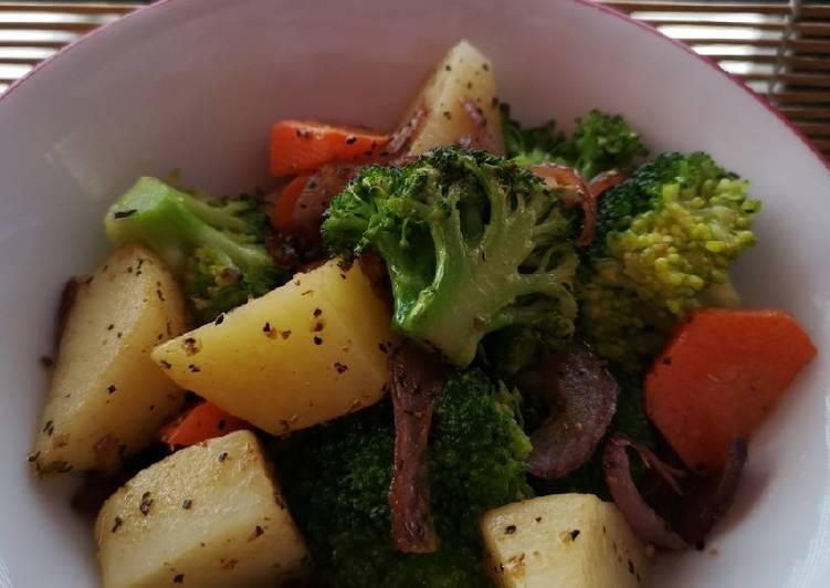 Salad Brokoli & Kentang