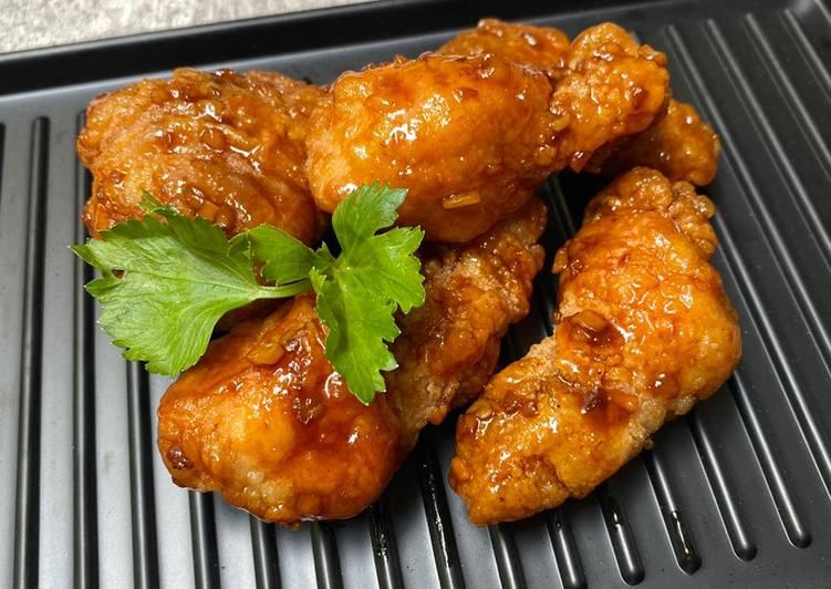 Ayam Bonchon (honey lemon pepper)