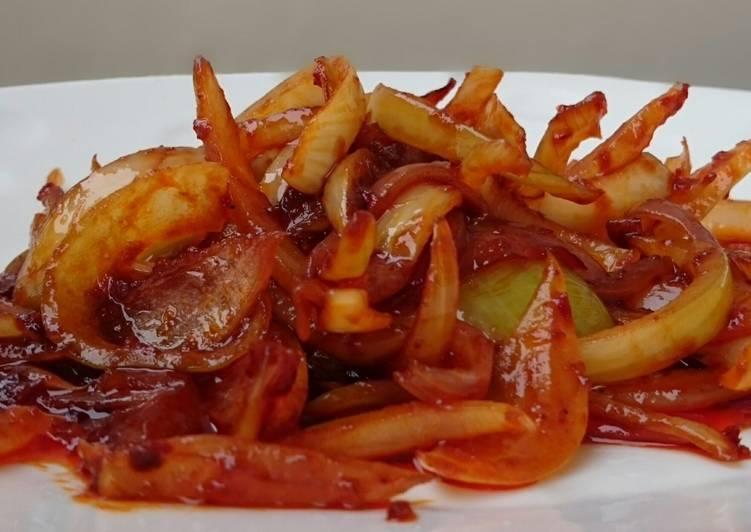 Easiest Way to Cook Tasty Spicy Sauce /Sambal Sauce
