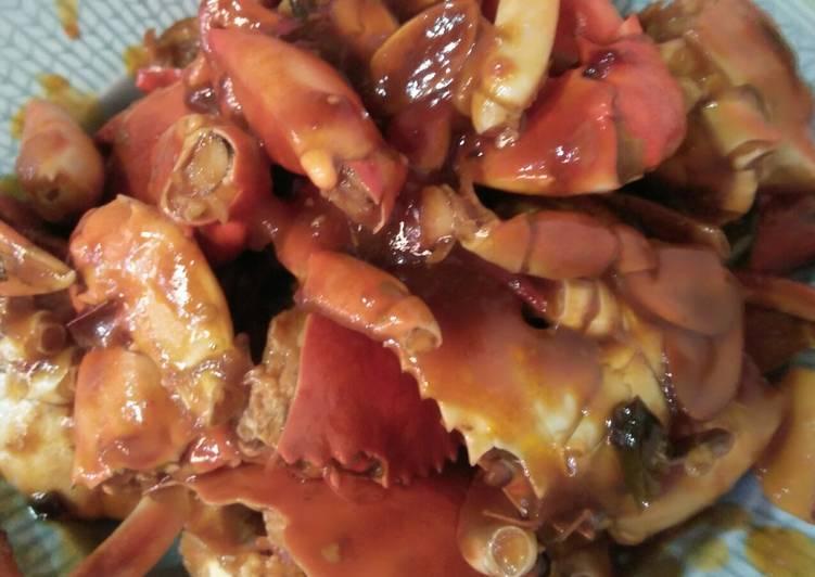 Kepiting asam manis sekejap - cookandrecipe.com