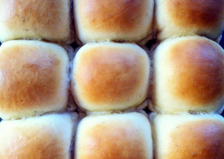 Easy Homemade Dinner Rolls Recipe