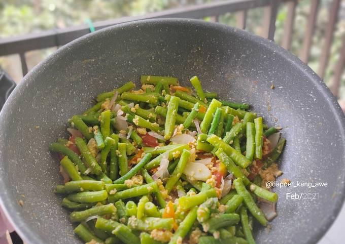 Tumis kacang panjang (Diet)