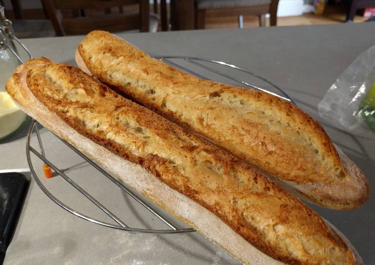 How to Prepare Award-winning Retarded Baguettes