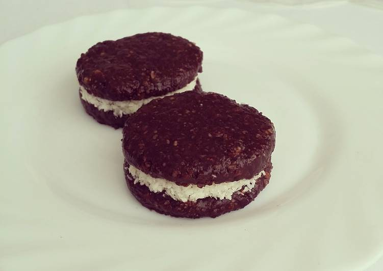 Oreo biscuits - no baked healthy choice!