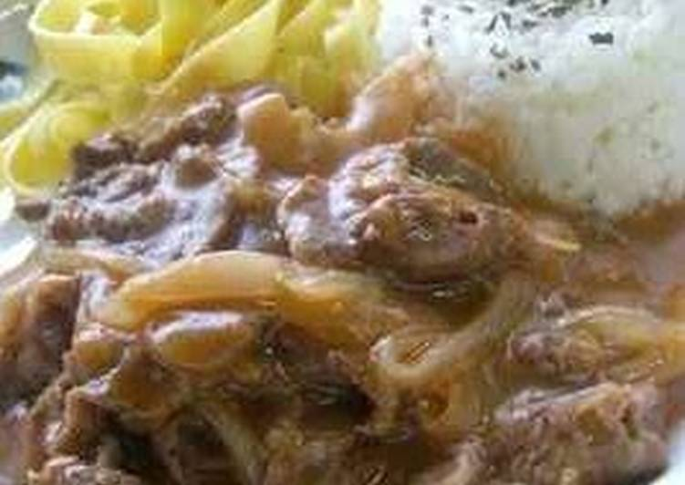 Simple Way to Make Perfect Ultra Easy Beef Stroganoff