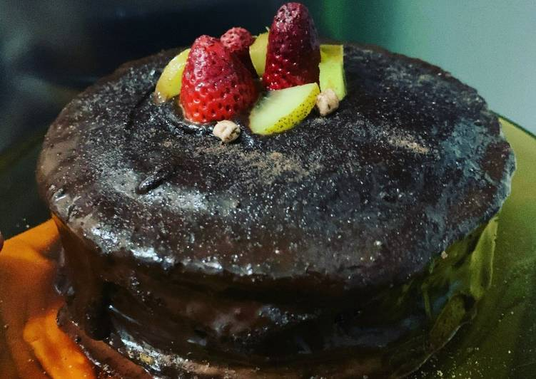 Tablea Cake Series: Dark Chocolate Ganache Cake Frosting
