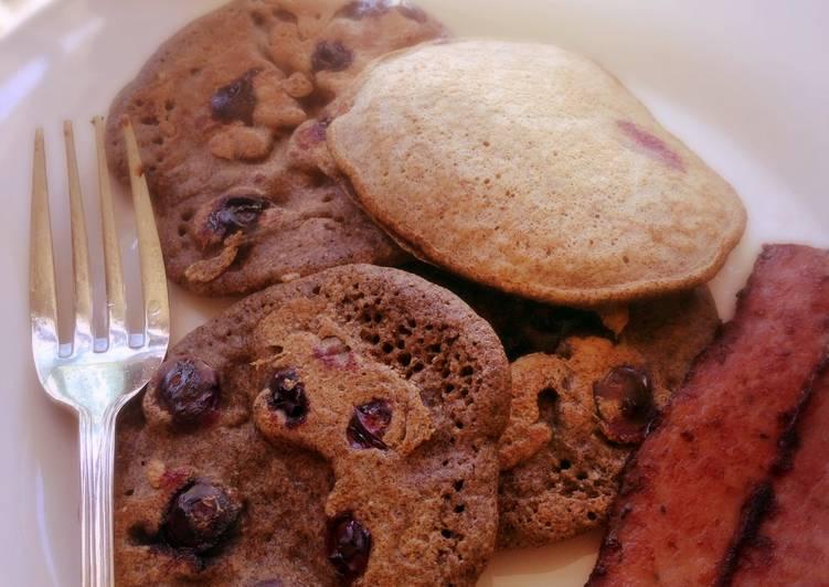 Simple Way to Prepare Speedy Blueberry Buckwheat Pancakes