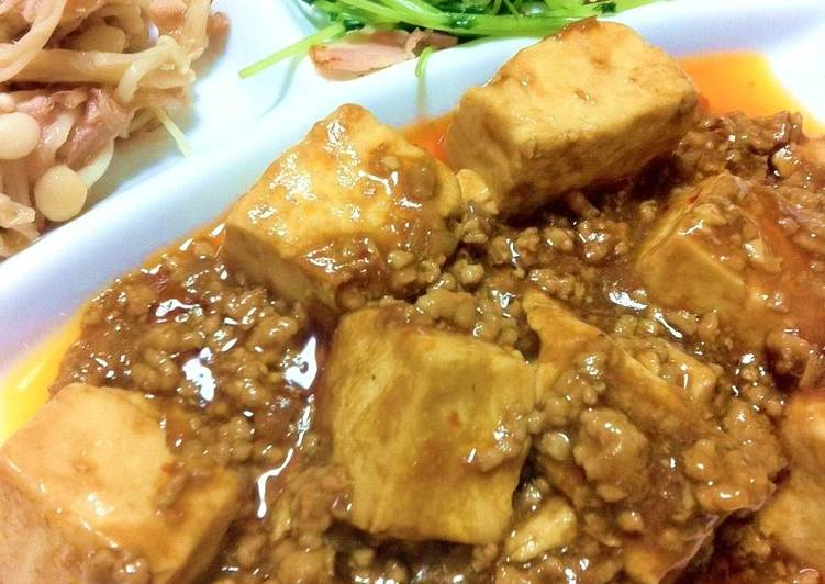 Recipe of Award-winning Easy Speedy Mapo Tofu