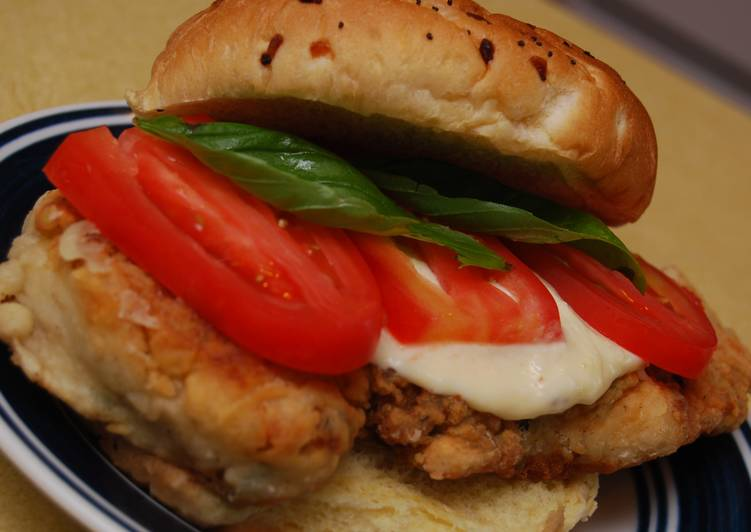 Italian Chicken Cutlet Sandwich