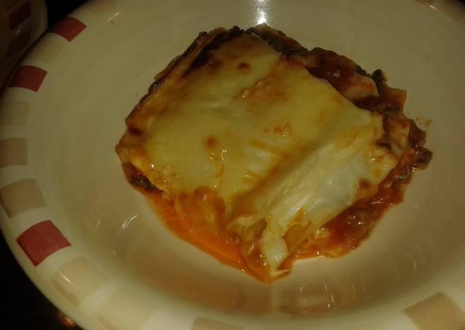 Almu's surprise lasagna