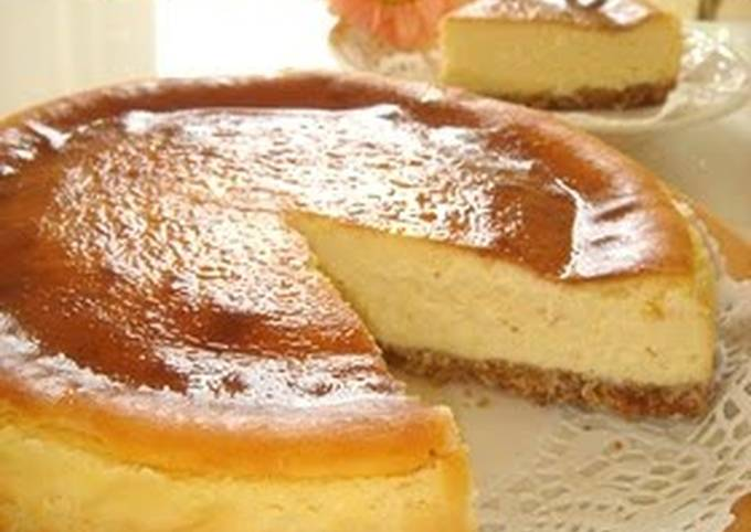 Recipe: Delicious Easy Moist and Rich Cheesecake