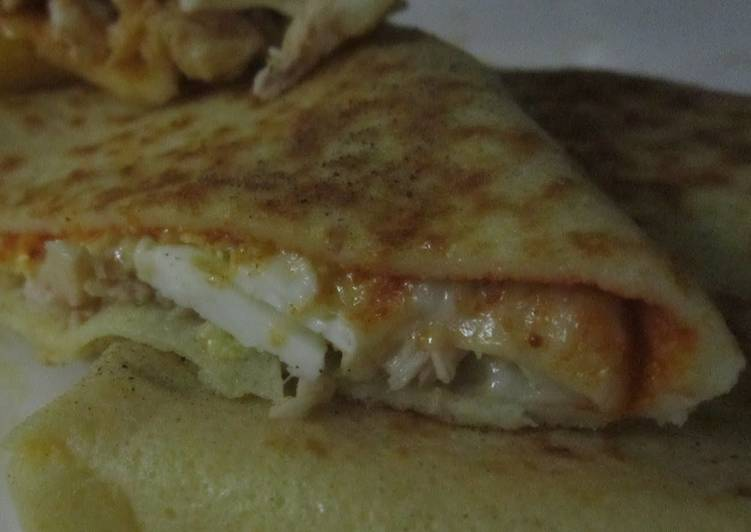 Easiest Way to Make Ultimate Savory pancake(crepe salé)