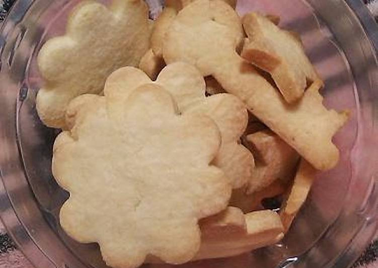 Turn to Food to Elevate Your Mood Rice Flour Cut-Out Cookies