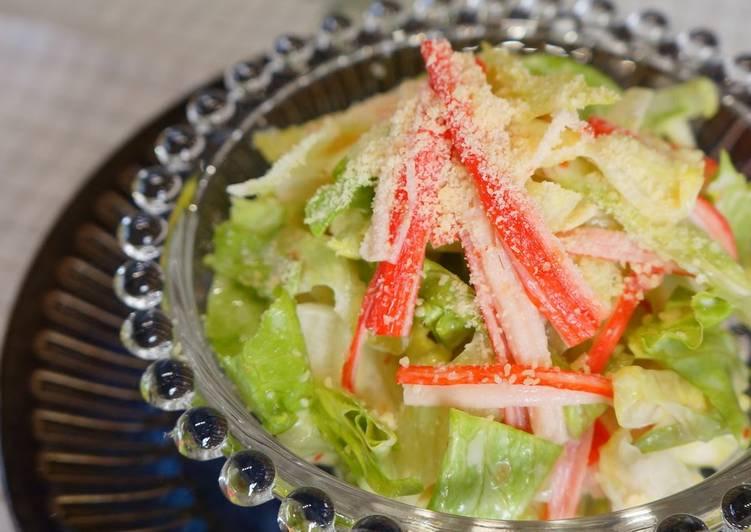 Crab Lettuce Salad Recipe