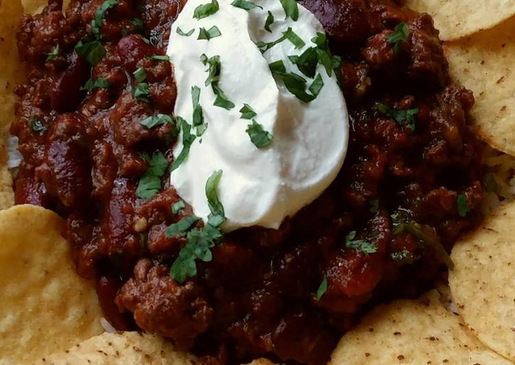 Easiest Way to Cook Tasty Vickys Venison Chilli Con Carne, GF DF EF SF NF