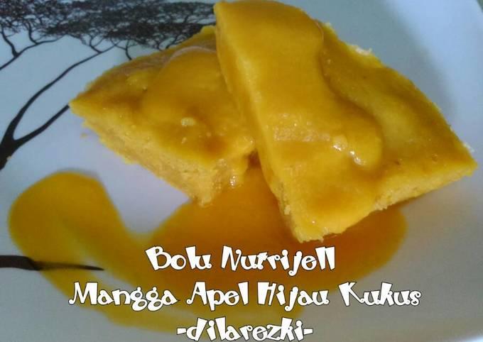 Resep Bolu Nutrijell Mangga Apel Hijau Kukus yang Legit…
