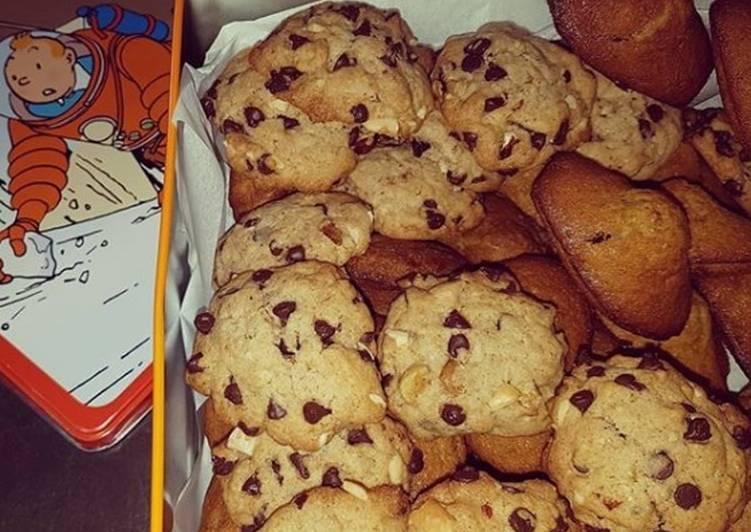 Ma boite à goûter Madeleines&Cookies