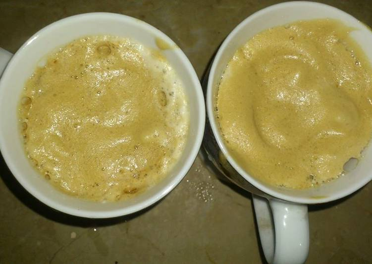Easiest Way to Prepare Favorite Hand Beaten Foamy Coffee