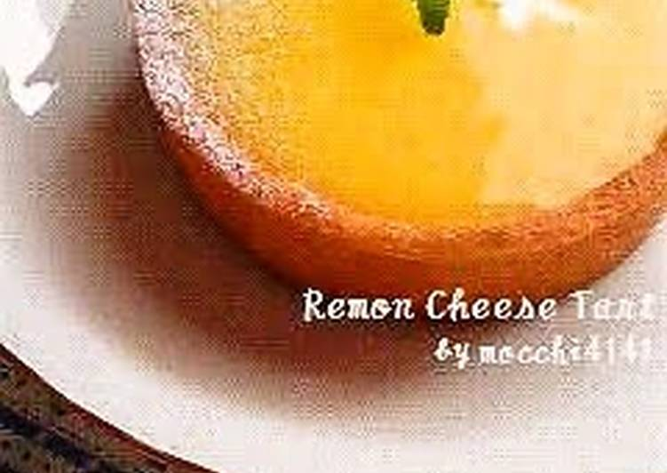 Steps to Make Homemade Lemon Curd and Cream Cheese Tart