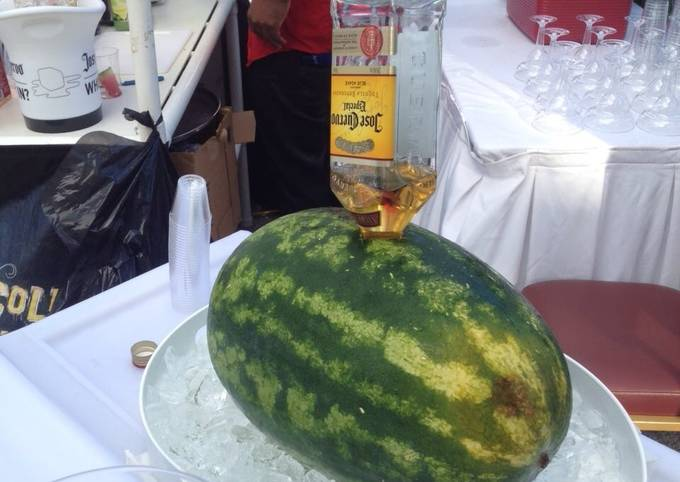 Liquor watermelon