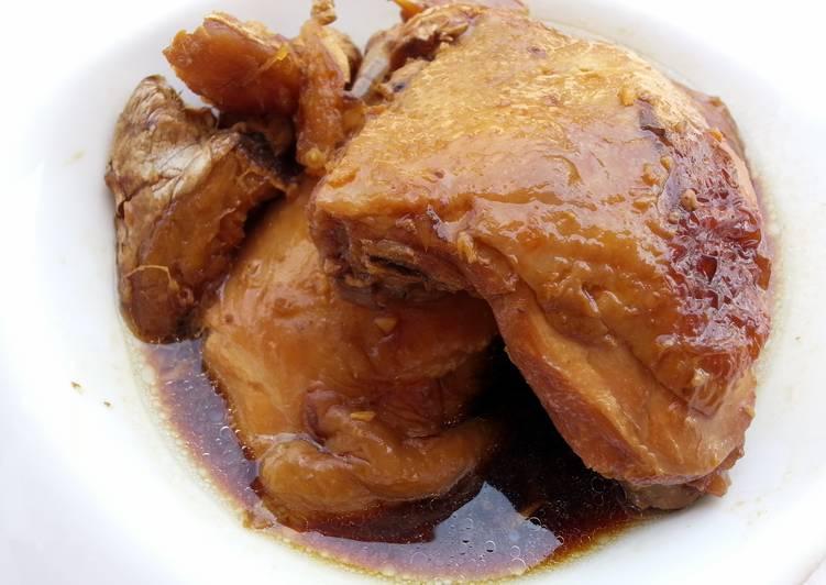 Braised Chicken With Essence Of Chicken